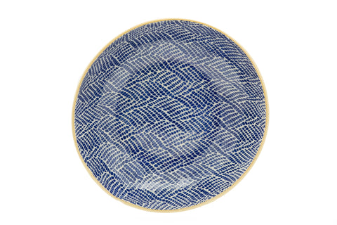 Cobalt Medium Serving Bowl in Braid
