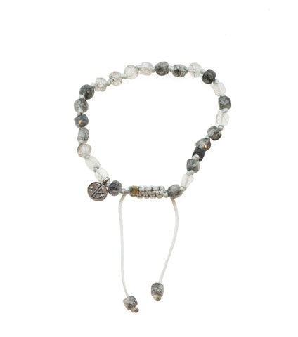 Joseph Brooks Black Rutile Quartz Bracelet