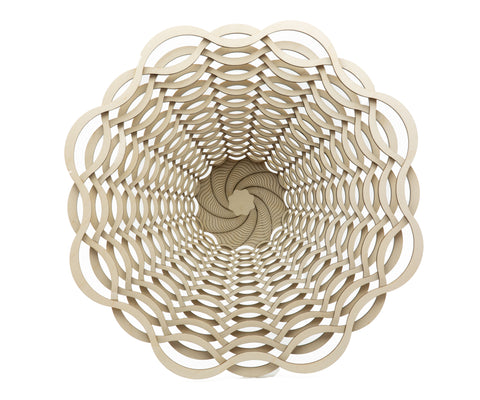 Basket Laser-Cut Small Bowl