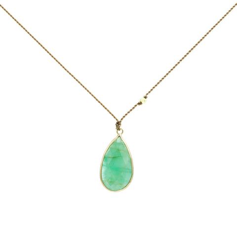 Margaret Solow Emerald Necklace