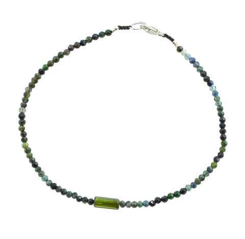 Margaret Solow Green Tourmaline Bracelet