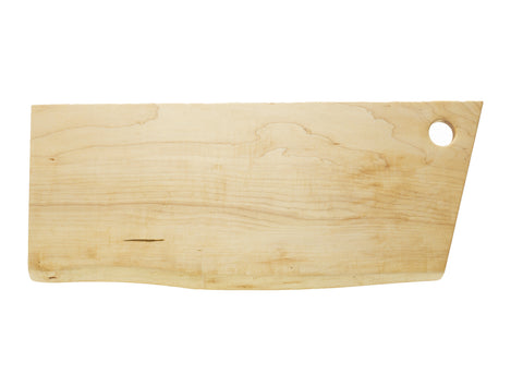 "Tom Svec Figured Maple 24"" Charcuterie Board"