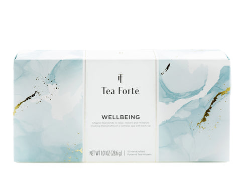 Tea Forte Wellbeing Assortment Petite Presentation Box