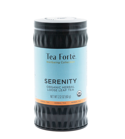 Tea Forte Wellbeing Serenity Loose Tea Canister