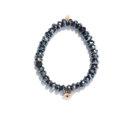 Sydney Evan Evil Eye Beaded Bracelet