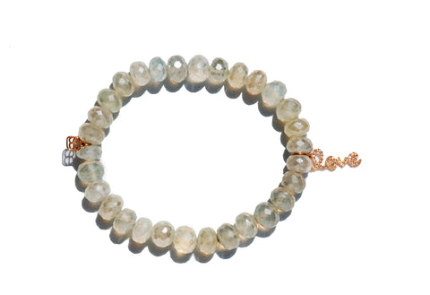 Sydney Evan Love Beaded Bracelet
