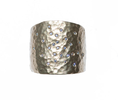Victoria Cunningham Pave Cigar Band