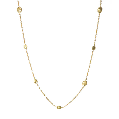 Victoria Cunningham 14K Floating Flake Necklace