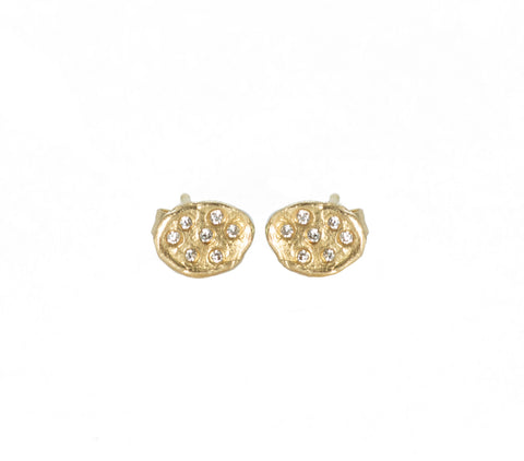 Victoria Cunningham Large Flake Post Earring