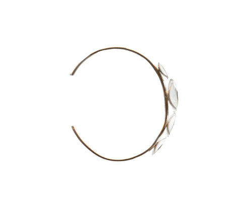 J&I Sterling Disc Cuff