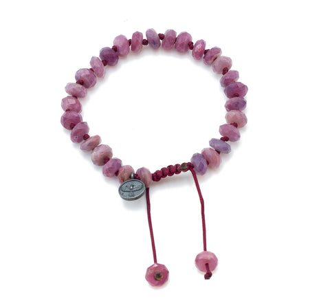 Joseph Brooks Ruby Bracelet