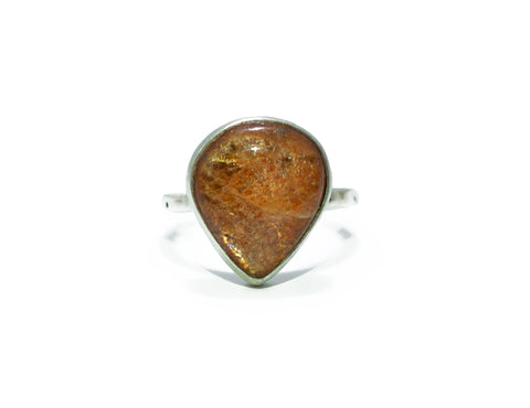 Jodi Rae Sunstone Teardrop Ring