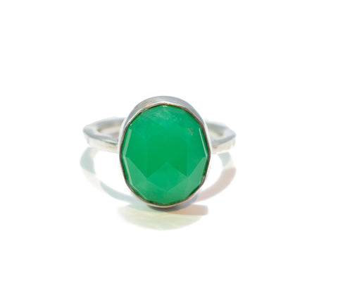 Jodi Rae Green Chrysoprase Ring