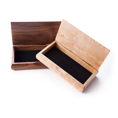 Men's Walnut Initial Box