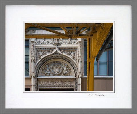Iconic Chicago: Fisher Building & EL Girders