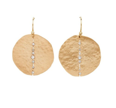 Julie Cohn Orbit Bronze Earring