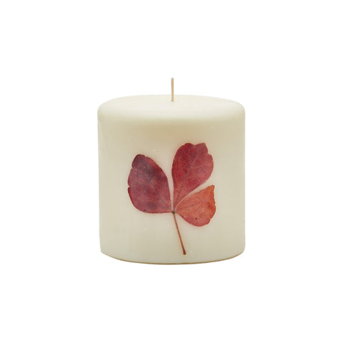 Spicy Apple Pillar Candle by Rosy Rings
