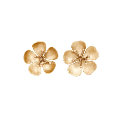 Julie Cohn Cherry Blossom Post Earrings