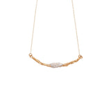 Julie Cohn Snowberry Bronze Pearl Necklace