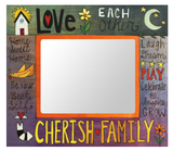 "Sincerely, Sticks ""What a Family Means"" Picture Frame"