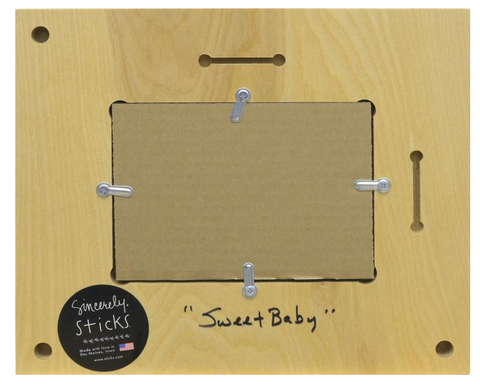 "Sincerely, Sticks ""Sweet Baby"" Picture Frame"