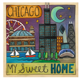 "Sincerely, Sticks ""Sweet Home Chicago"" Plaque"