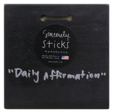 "Sincerely, Sticks ""Daily Affirmation"" Plaque"