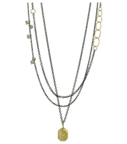 Sarah McGuire Radiant Triple Strand Necklace