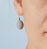 Grigio Clay Egg Earring