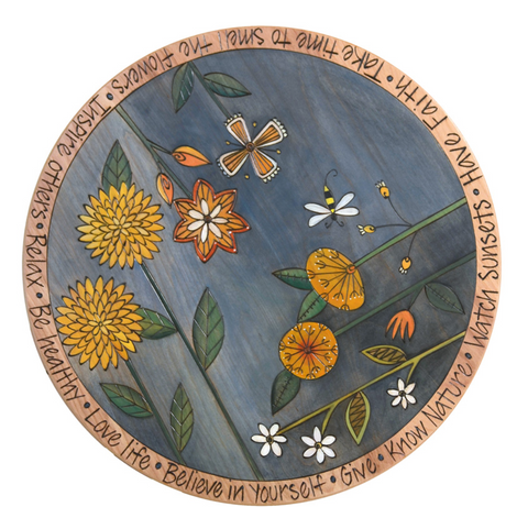 Sticks 'Floral' Lazy Susan
