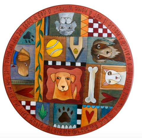 Sticks 'Man's Best Friend' Lazy Susan