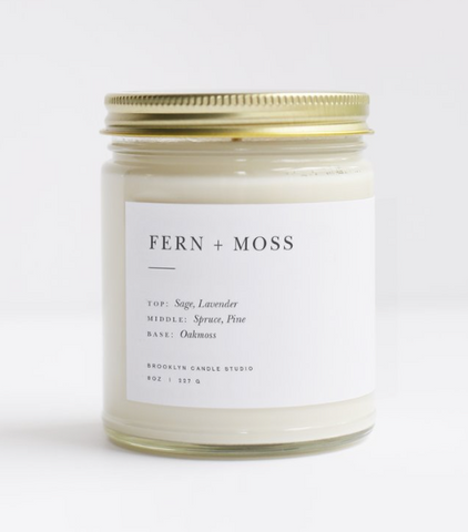 Brooklyn Candle Studio - Minimalist Collection - Fern + Moss