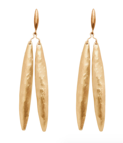 Julie Cohn Yew Leaf Earrings