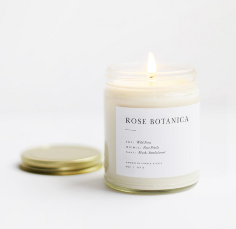 Brooklyn Candle Studio - Minimalist Collection - Rose Botanica