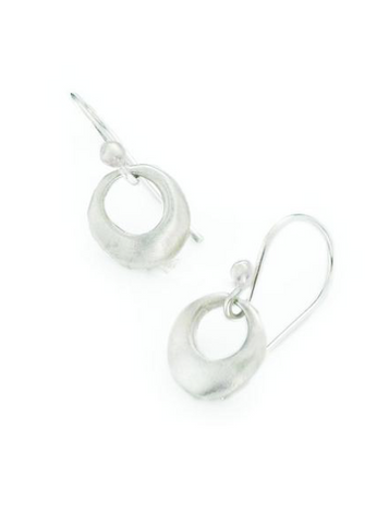 Philippa Roberts Small Ring Silver Earring