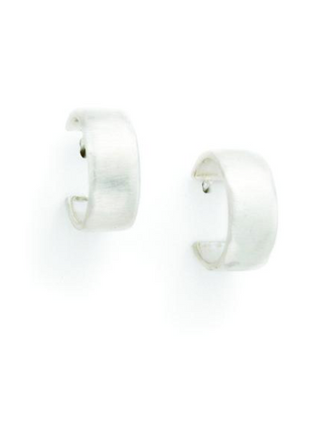 Philippa Roberts Thick Silver Hoops