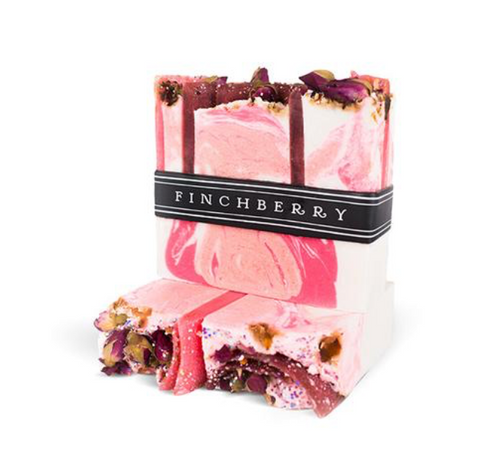Finchberry Rosey Posey Vegan Soap