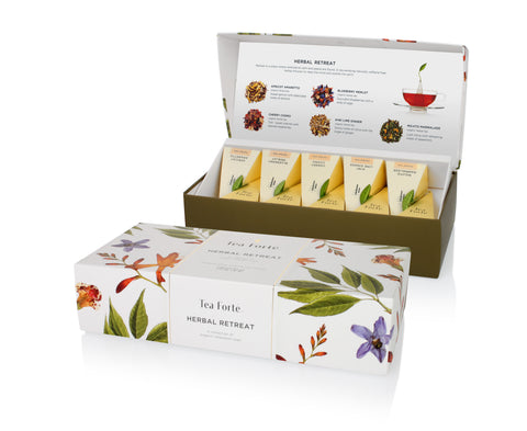 Tea Forte Herbal Retreat Assortment
