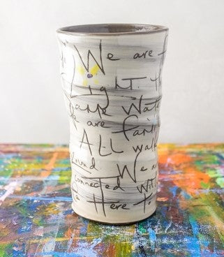 The Family Poem Vase