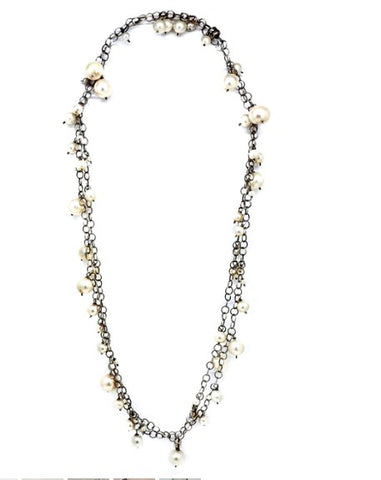 Calliope Xtra Long Chain of Pearls