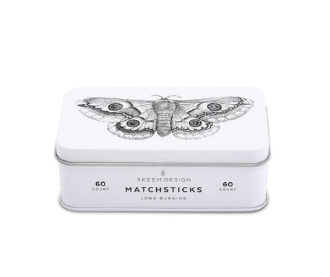 Moth Match Tin