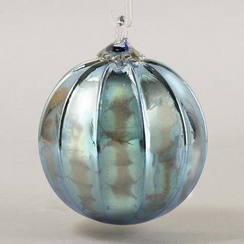 Steel Blue Ornament