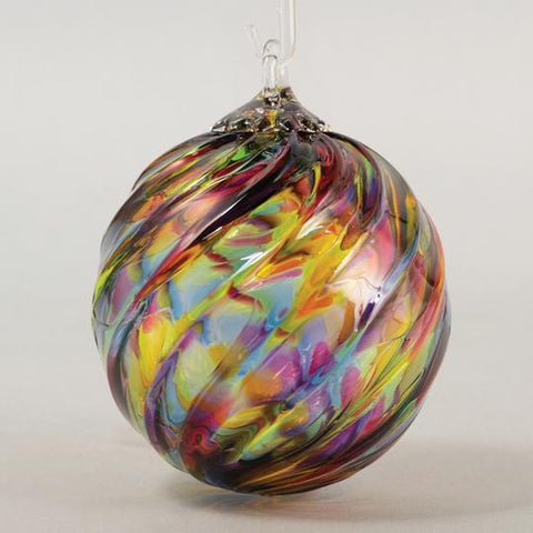 Rainbow Twist Ornament