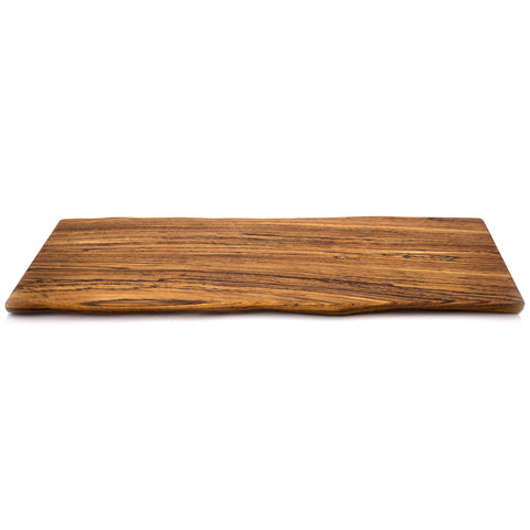 Paul Fowler Medium Sculpted Edge Zebrawood Board
