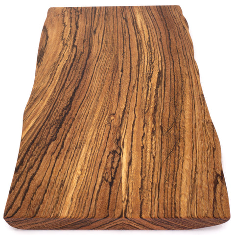 Paul Fowler Medium Live Edge Zebrawood Board