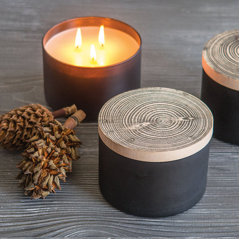 Sweet Balsam Three Wick Candle