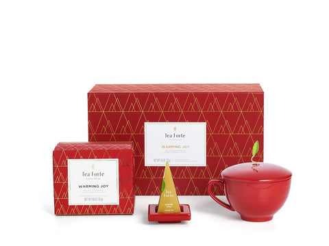 Tea Forte Warming Joy Holiday Gift Set
