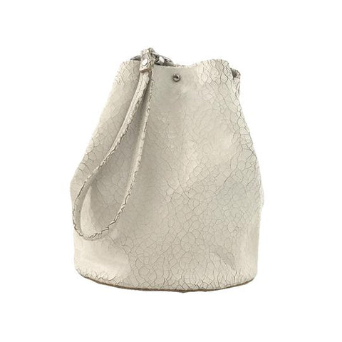 Tracey Tanner Leather Wasteland Distress Bucket Bag