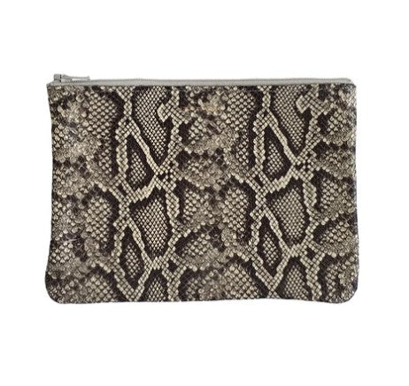 Tracey Tanner Exotic Small Zip Pouch