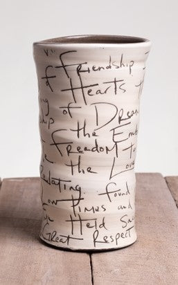 Friendship Poem Vase